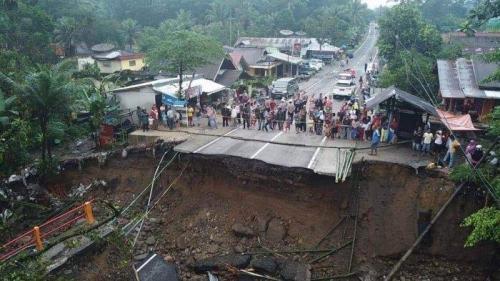 Jembatan Batang Kalu Ditargetkan Selesai Oktober 2019, dari Bukittinggi ke Padang Disarankan Lewat Malalak