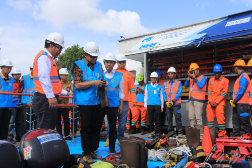 Jelang Nataru, PLN Regional Riau Lakukan Gelar Pasukan Siaga Amankan Kelistrikan