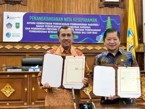 Riau Jadi Percontohan Provinsi Rendah Karbon di Indonesia, Gubri Syamsuar: Alhamdulillah Ini Amanah