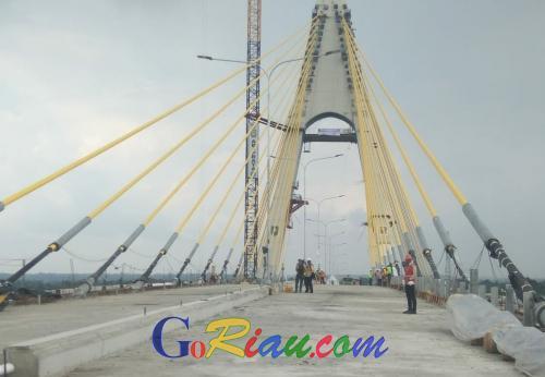 Mulai Dibangun 2009, Jembatan Siak IV Diberi Nama Sultan Abdul Jalil Alamuddin Syah dan Diresmikan di 2019, Ini Profilnya