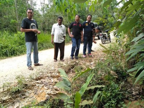 Warga Tenayan Raya Heboh Jejak Harimau di Pemukiman, Ini Hasilnya Setelah Dicek BBKSDA Riau
