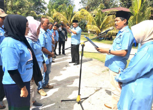 Tim Pemenangan HT Desa Telayap Dikukuhkan, Warga Antusias Sambut Tengku Edy Sabli