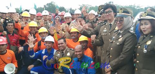 Sepanjang 2019, 14.325 Kasus Kecelakaan Kerja Terjadi di Riau