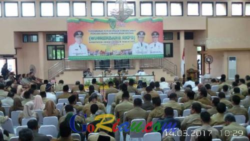 Gubri Buka Musrenbang RKPD Inhil, Bupati Sebut Usulan Masyarakat Sebesar Rp6,4 Triliun