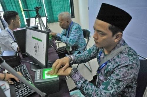 Rekam Biometrik Jemaah Haji Sudah Dimulai