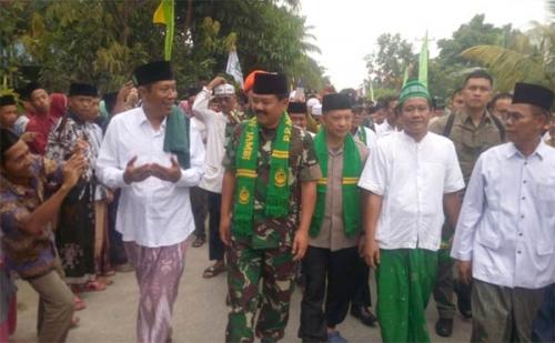 Berkunjung ke Ponpes Nurul Iman Tapung Kampar, Panglima TNI: Pesantren Adalah Samudera Ilmu