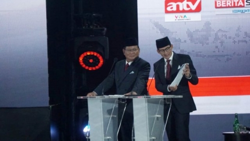 Prabowo-Sandi Sepakat Tak Ambil Gaji karena Negara Sedang Susah