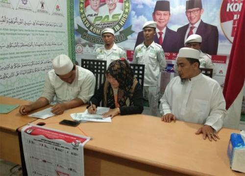 FPI Riau dan Pekanbaru Rekomendasikan Misbah Nasution, Caleg DPR RI Dapil Riau II