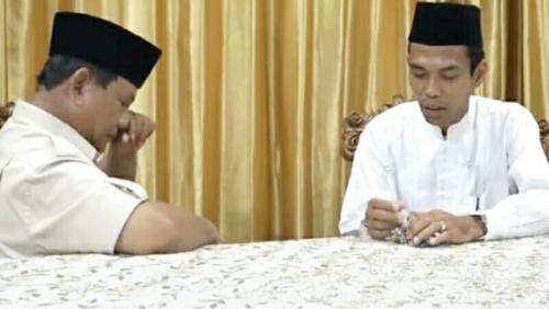 Diserang Fitnah Keji Usai Dukung Prabowo, UAS: Menunjukkan Akal Tak Lagi Mengikat Nafsu