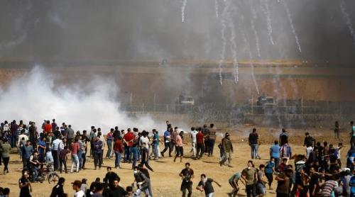 Hari Ini, Pasukan Israel Tembak Mati 18 Warga Palestina dan Lukai 900 Orang