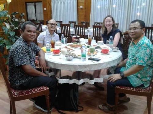Unilak Dampingi Delegasi Kedutaan Amerika pada Kegiatan Ramadan Outreach di Pekanbaru