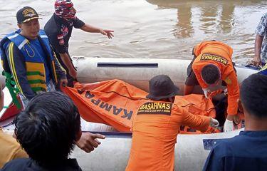 Tiga Pemudik Asal Riau yang Jadi Korban Perahu Terbalik di Perbatasan Sumbar Ditemukan Tewas