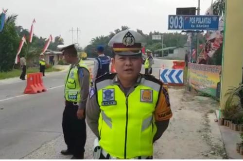 Pemudik yang Melewati Lintas Utara Sumatera, Bisa Istirahat di 3 Pos Pengamanan Polres Bengkalis