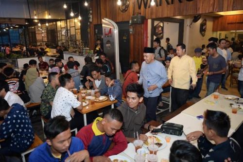 Komunitas Pemuda Kreatif Pilih Nomor 4 di Pilgubri, Andi Inspirasi Pemuda Jadi Tuan Rumah di Negeri Sendiri