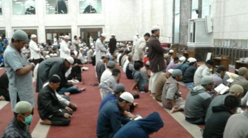 Hingga Akhir Ramadhan 1439 H, Ribuan Jamaah Tetap Padati Masjid Abu Ad Dardak Panam Laksanakan Iktikaf