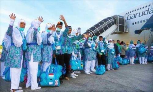 Bersama Kota Pekanbaru, 187 Calon Jamaah Haji Dumai Masuk Kloter 5