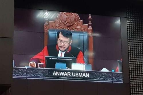 Sidang Sengketa Pilpres, Interupsi Yusril Ditolak Ketua MK