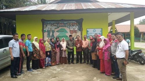 Bupati Mursini Tinjau Kesiapan Pembangunan Sekolah di Kuantan Mudik, Gunungtoar dan Hulu Kuantan