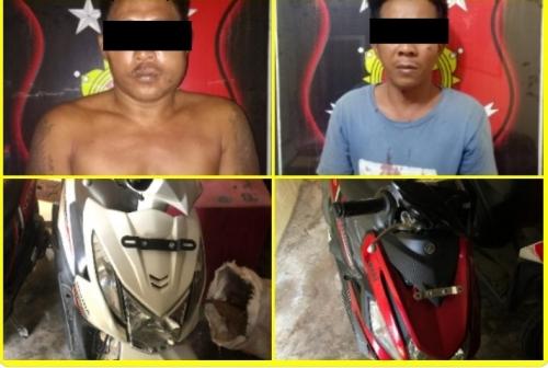 Dua Pelaku Begal yang Merampas Kendaraan dan Merudapaksa Korbannya di Rohul Berhasil Diringkus Polisi