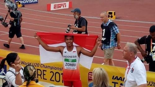 Muhammad Zohri Nyaris Gagal ke Finlandia Gara-gara Yatim Piatu dan Tak Punya Uang