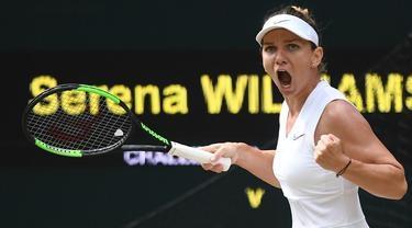 Juara Wimbledon 2019 Simona Halep, Rela Kecilkan Payudara Demi Tenis