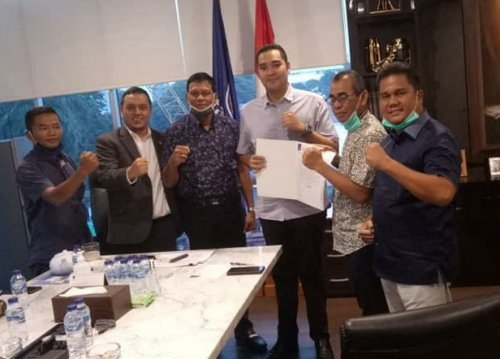 Pilkada Kuansing 2020, Mursini - Indra Putra Dapat Restu Surya Paloh
