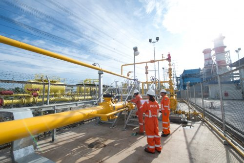 PGN Komitmen Pasok Gas untuk Pembangkit Listrik PLN