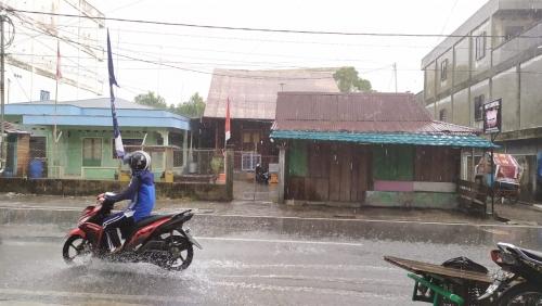 Siang Ini, Kepulauan Meranti Diguyur Hujan