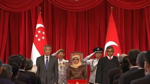 Dilantik Jadi Presiden, Halimah Yacob Dipuji Perdana Menteri Singapura