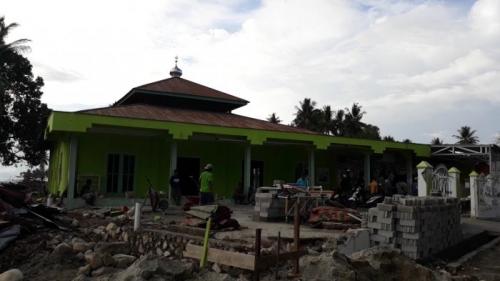 Ajaib, Tsunami Melompati Kubah Masjid Jami di Palu, Begini Kesaksian Jamaah
