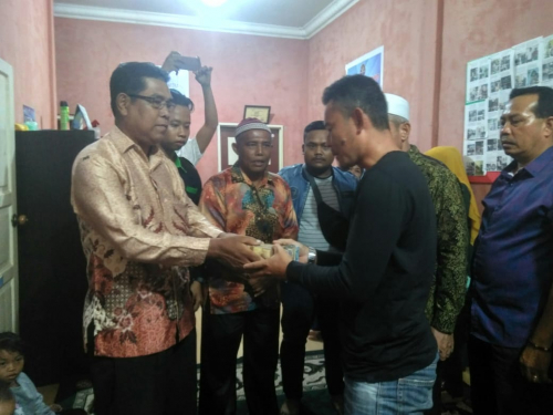 Aqil Firmansyah, Bayi Penderita Sakit Jantung di Kepulauan Meranti Berobat ke Pekanbaru