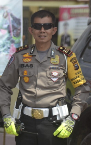 Pelanggar Lalin di Kuansing Nonton Video Dampak Fatal Lakalantas