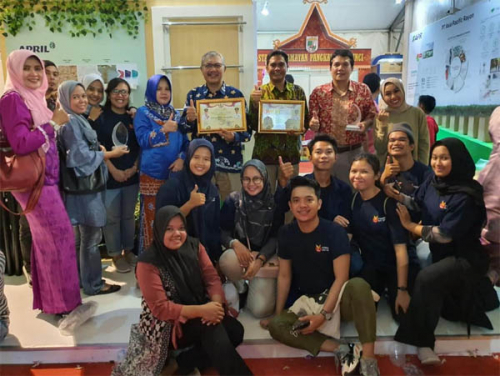 PT RAPP Raih Stand Terbaik Pelalawan Expo, Program School Improvement Diminati Pengunjung
