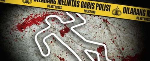 Duel Pakai Pisau, Suami Tewas Bersimbah Darah Ditikam Selingkuhan Istrinya
