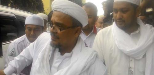 Habib Rizieq Kecewa Pemerintah Datangkan Ulama Mesir untuk Saksi Kasus Ahok