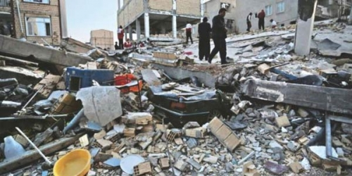 Gempa 7,3 SR di Iran Renggut 407 Jiwa, 6.600 Terluka