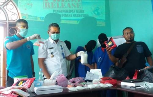 BNN Pelalawan Tangkap Pengedar Narkoba Kakap