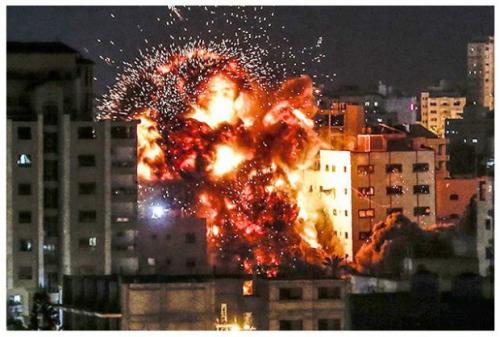 Militer Israel Bombardir Pemukiman Warga Palestina, 22 Muslim Wafat dan 66 Terluka