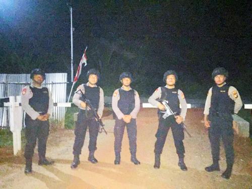 Pasca Bom Bunuh Diri di Polrestabes Medan, Polres Kepulauan Meranti Perketat Penjagaan