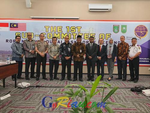 Beroperasi 2020, RoRo Dumai - Malaka Jadi Penyeberangan antar Negara ASEAN Pertama