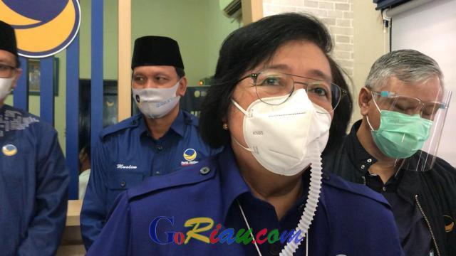 Kepala BNPB Fokus Tangani Covid-19, Menteri Siti Nurbaya Akui Dirinya Diminta Jokowi Kerja Keras Tangani Ancaman Karhutla