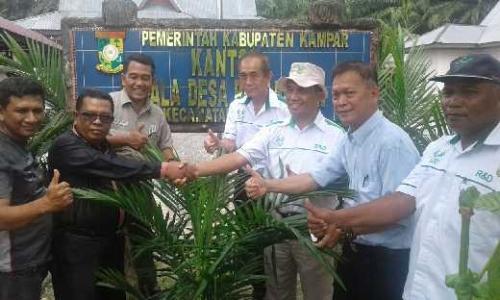 Kelola Tanah Kas, Asian Agri Bermitra dengan Desa