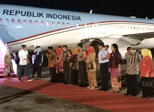 Tak Nginap di Gubernuran, Jokowi Tidur di Hotel, Pengamanan Terpaksa Diperketat