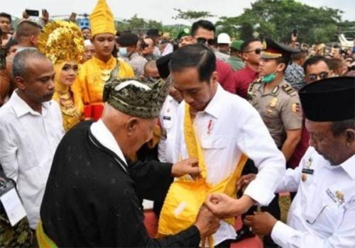 Jokowi Diberi Gelar Kehormatan Adat, LAM Riau: Itu Sebagai Bentuk Terima Kasih