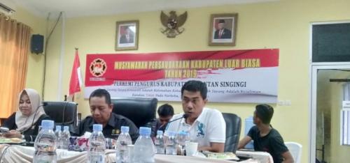 Terpilih sebagai Ketua Perkemi Kuansing, Mardansyah Bertekad Majukan Kempo di Negeri Jalur