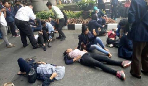 Lantai Gedung Bursa Efek Indonesia Ambruk, Jumlah Korban Belum Diketahui