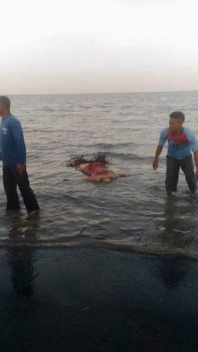 Breakingnews: Warga Tanjung Pisang Tasik Putripuyu Temukan Mayat Mengapung di Laut