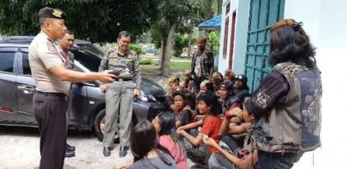 Siap Hadiri Acara di Medan, 17 Anak Punk di Dumai Diamankan Satpol PP