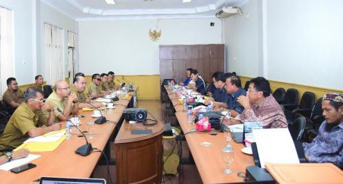 Bahas Realisasi Anggaran 2019, Komisi II DPRD Bengkalis Panggil PD