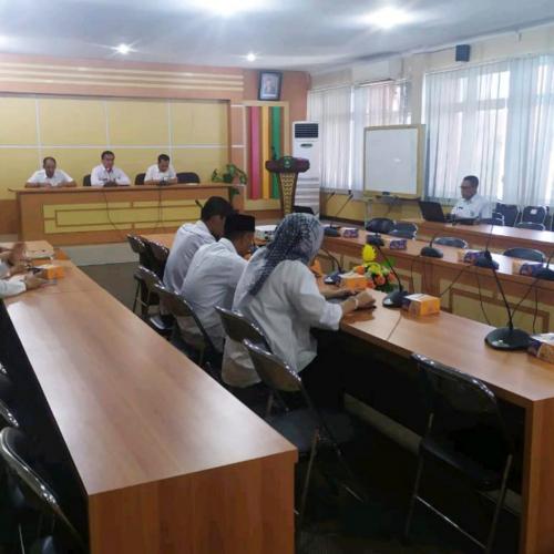 Bappeda Bengkalis Taja Workshop e-Planning Desa dan Kelurahan